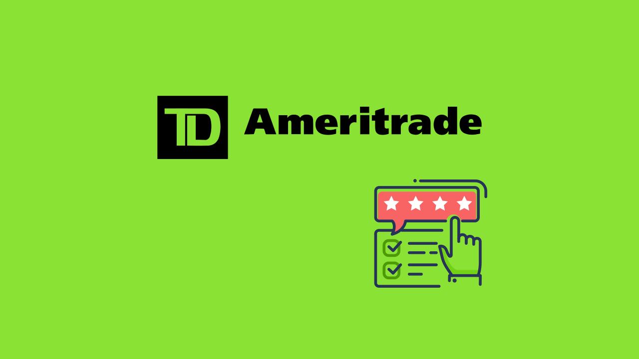 TD Ameritrade美股劵商推薦和操作心得